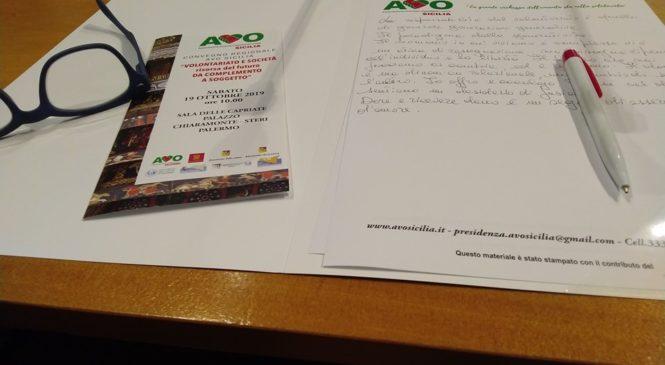 19 Ottobre 2019 Convegno Regionale AVO Sicilia